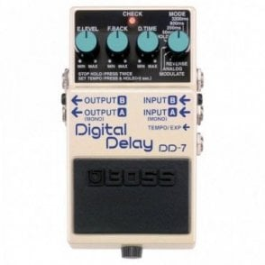 DD-7 Digital Delay Stereo Guitar Effects Pedal