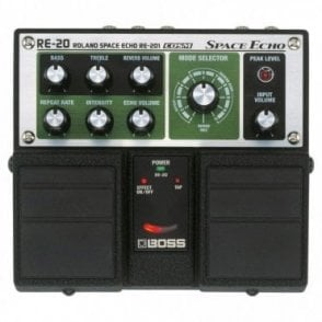 RE-20 Space Echo Twin Guitar Pedal