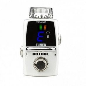 Tuner Guitar Effects Pedal With Clean Boost