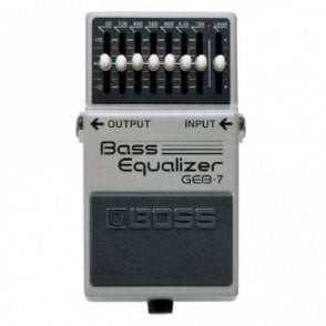 GEB-7 Bass Graphic Equalizer Compact Pedal