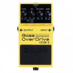 ODB-3 Compact Bass Guitar Overdrive Pedal (B-Stock)