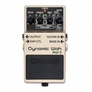 AW-3 Dynamic Wah Guitar Effects Pedal