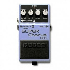 CH-1 Super Chorus Guitar Effects Pedal (Refurbished- Without Original Packaging)