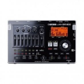 BR-800 Multitrack Digital Recording Studio