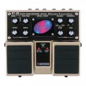 RT-20 Rotary Ensemble Twin Guitar Pedal