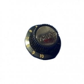 SINGLE Volume Knob - Black (H90950BV)
