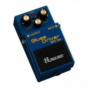 BD-2w Blues Driver Waza Craft Special Edition Effects Pedal
