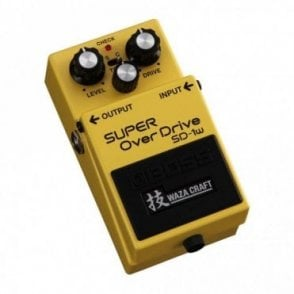 SD-1w Super Overdrive Waza Craft Effects Pedal (Refurbished)