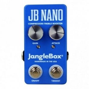 JB Nano Compressor / Treble Booster Guitar Effects Pedal