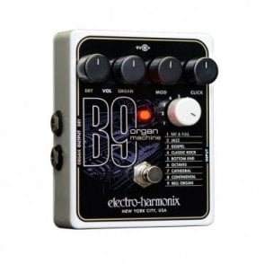B9 Organ Machine Guitar Effects Pedal