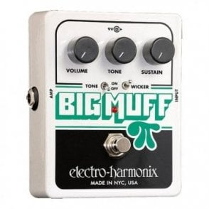 Big Muff Pi With Tone Wicker Guitar Effects Pedal