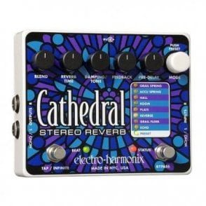Cathedral Deluxe Reverb Guitar Effects Pedal