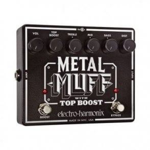Metal Muff Distortion Pedal With Top Boost