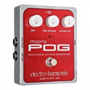 Micro POG Poly Octave Generator Guitar Effects Pedal