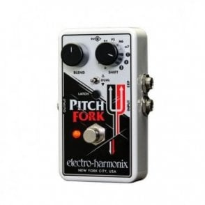 Pitch Fork Polyphonic Pitch Shifter Guitar Effects Pedal