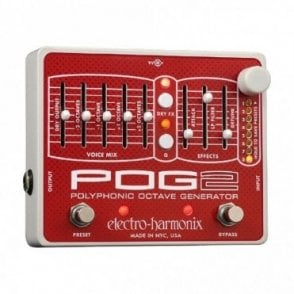 POG 2 Polyphonic Octave Generator Guitar Effects Pedal