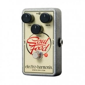 Soul Food Transparent Overdrive Guitar Effects Pedal