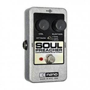 Soul Preacher Compressor Sustainer Guitar Effects Pedal