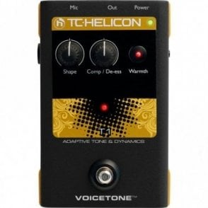 VoiceTone T1 Adaptive Tone & Dynamics Vocal Effects Pedal
