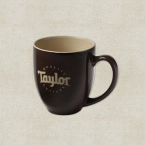 Mug, Brown Glossy With Taylor Logo