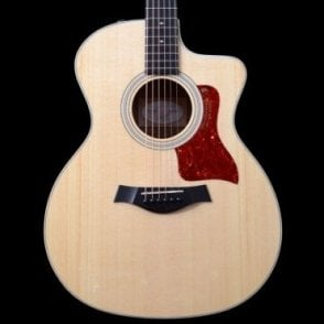 214ce K DLX  Koa Grand Auditorium Electro Acoustic With Cutaway In Natural