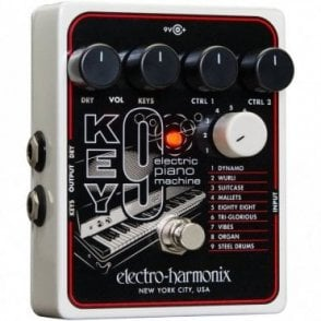 Key 9 Electric Piano Machine Effects Pedal