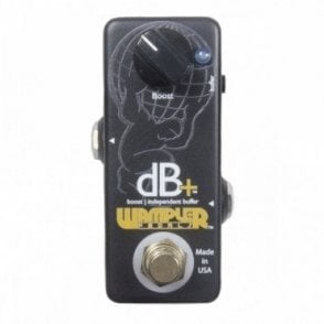 Decibel Plus dB+ Full Frequency Clean Boost & Buffering Pedal