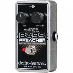 Bass Preacher Compressor / Sustainer Effects Pedal