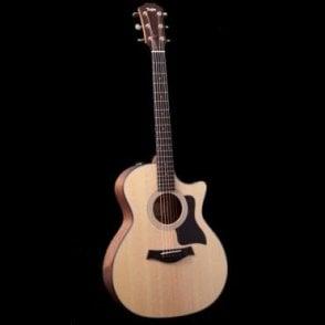 314ce Grand Auditorium Electro Acoustic Guitar , ES2 Electronics