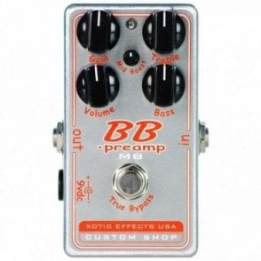 BB Preamp MB - Custom Shop Mid Boost Version