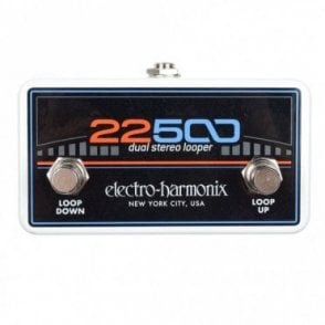 22500 Foot Controller for Dual Stereo Looper