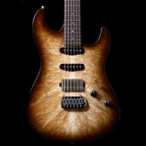 '96 Drop Top Custom With Burl Top #15220 Electric Guitar