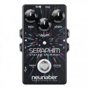 Seraphim Shimmer Reverb Stereo Buffered Bypass Expanse Series Pedal