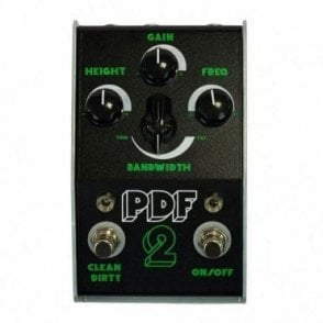 PDF-2 Parametric Overdrive & Distortion Filter Pedal