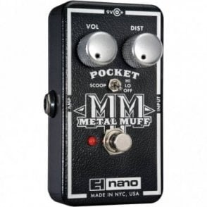 Nano Pocket Metal Muff Guitar Effects Pedal