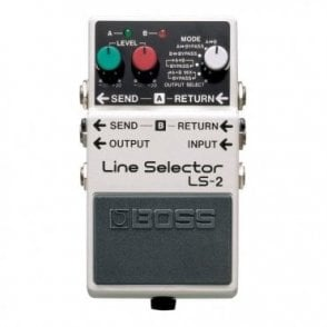 LS-2 Line Selector Guitar Effects Pedal