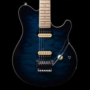 Music Man Axis MN Electric Guitar, Pacific Blue Burst