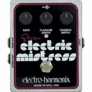 Stereo Electric Mistress Chorus / Flanger Guitar Effects Pedal