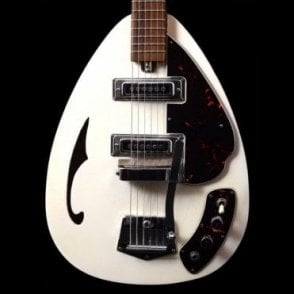 1968 Crescendo Made In Japan - White - Vintage Guitar