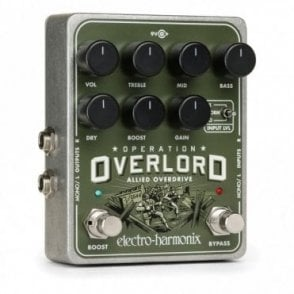 Operation Overlord Allied Overdrive Guitar Effects Pedal