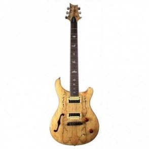 Exotic Limited Custom 22 Semi Hollow Electric Guitar, Spalted Maple