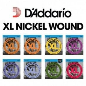 XL Nickel Wound Strings for Electric Guitar (All Gauges)