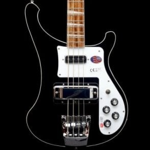 4003 Electric Bass Guitar, Jetglo - 2017 Model #17-02788