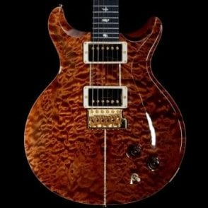 PRS  Santana Wood Library Quilt Limited Edition in Copper