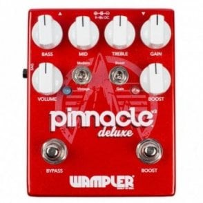 Pinnacle Deluxe V2 Drive & Boost Guitar Effects Pedal
