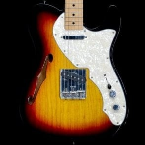Fender Classic Series '69 Thinline Telecaster in Two Tone Sunburst, Pre Owned