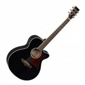 Winterleaf TW4 Black Acoustic Guitar