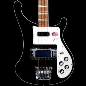 4003 Electric Bass Guitar, Jetglo - 2017 Model 1721732