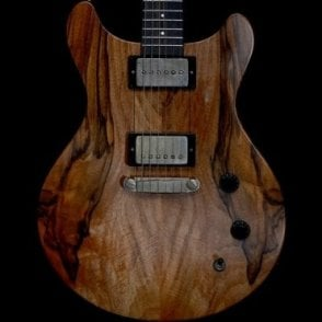 Macon Contoured Bastogne Walnut Guitar, Pre-Owned