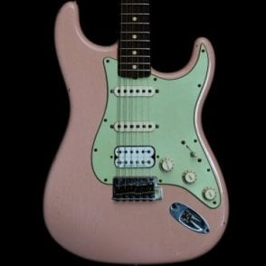 John Cruz 1963 Journeyman Electric Guitar, Aged Shell Pink Pre-Owned
